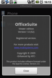 OfficeSuite Viewer 1.5.310